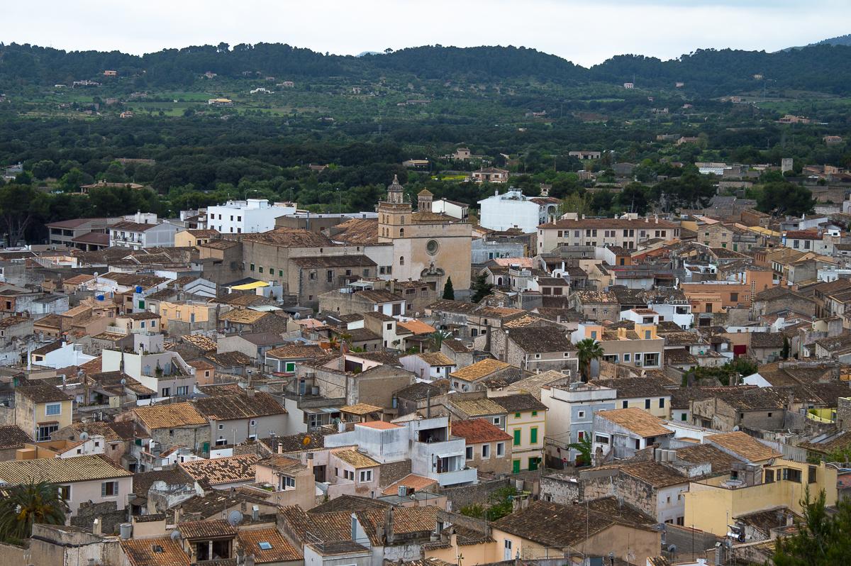 Blick über die Dächer von Artà