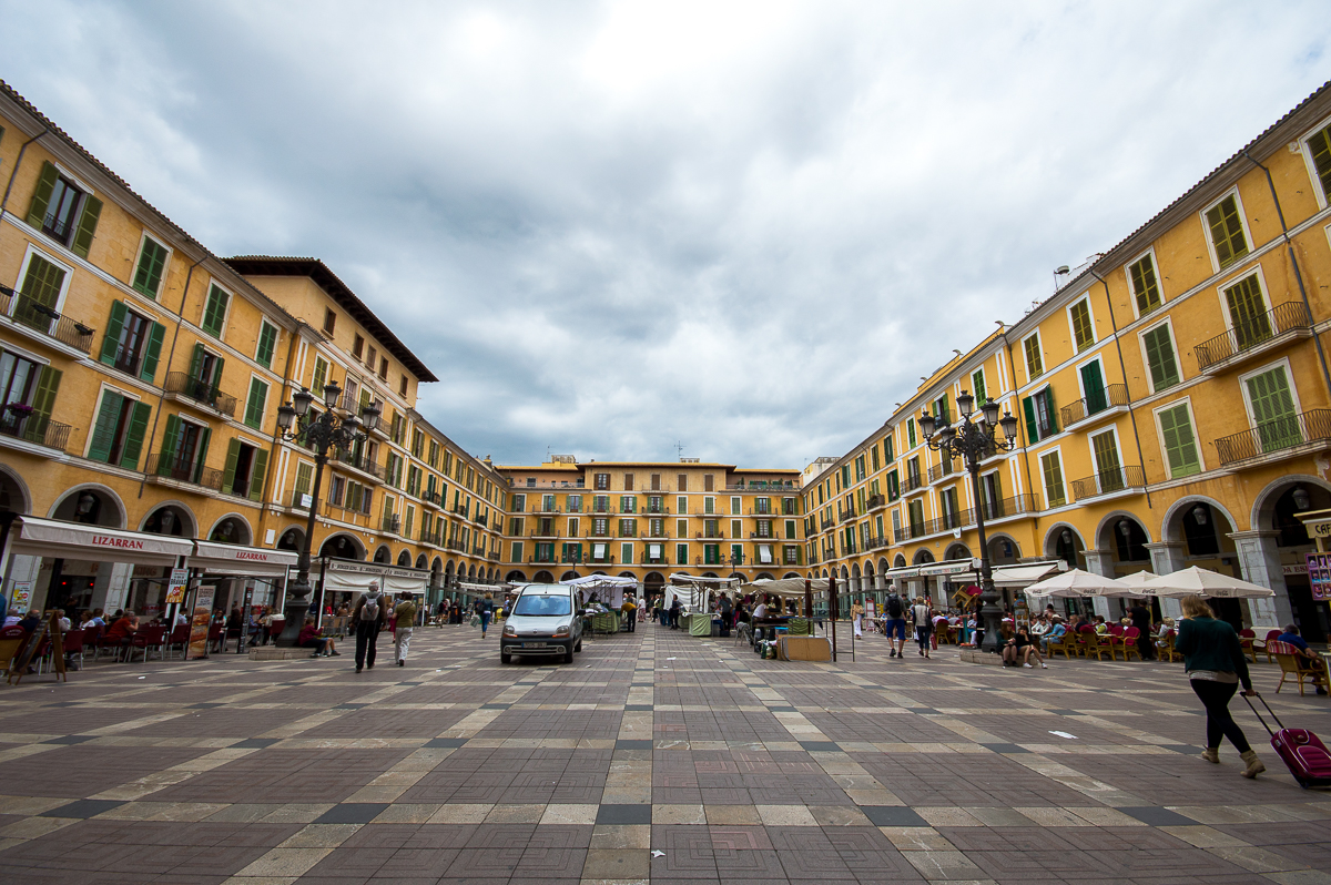 Der Plaza Mayor in Palma