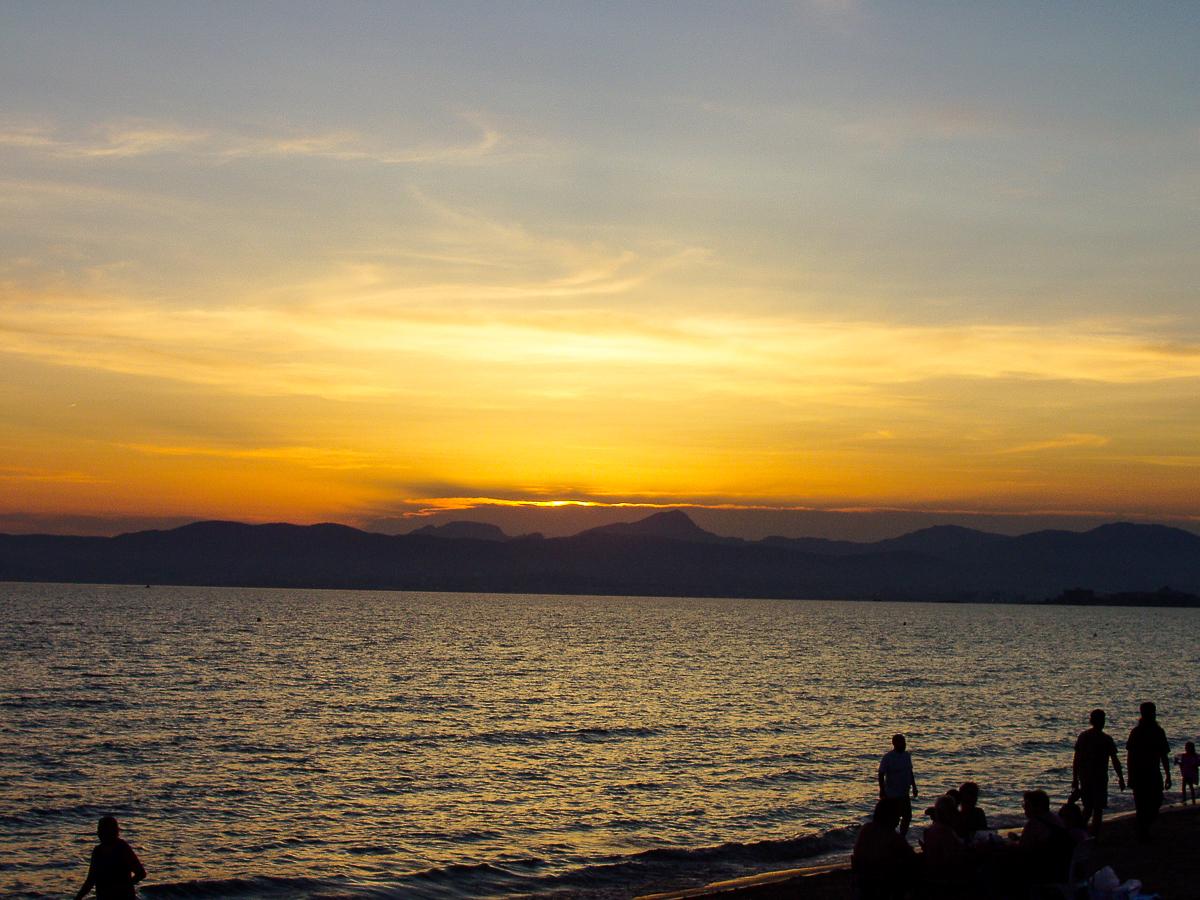 Sonnenuntergang auf der Insel Mallorca