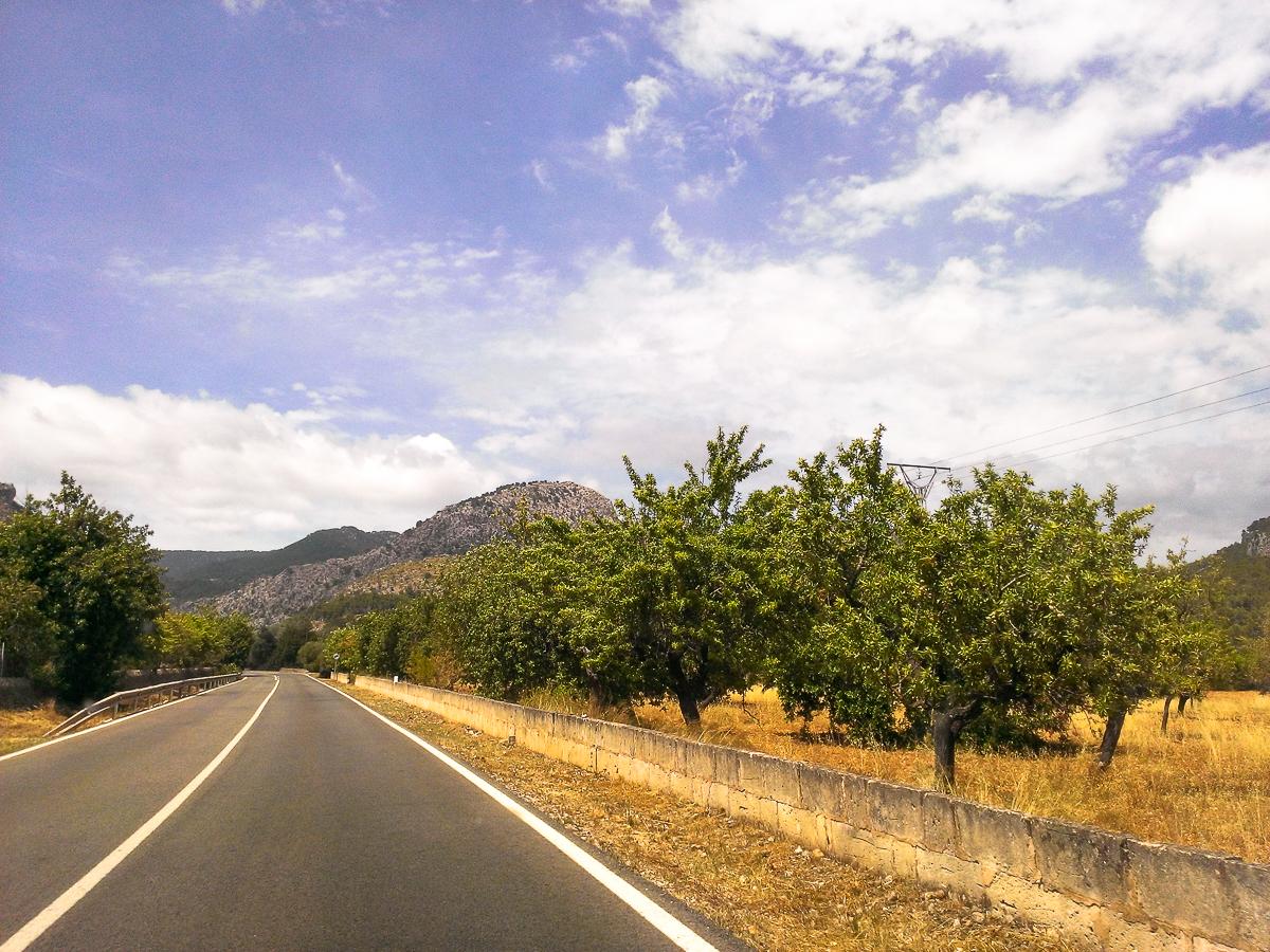 Straßen auf Mallorca