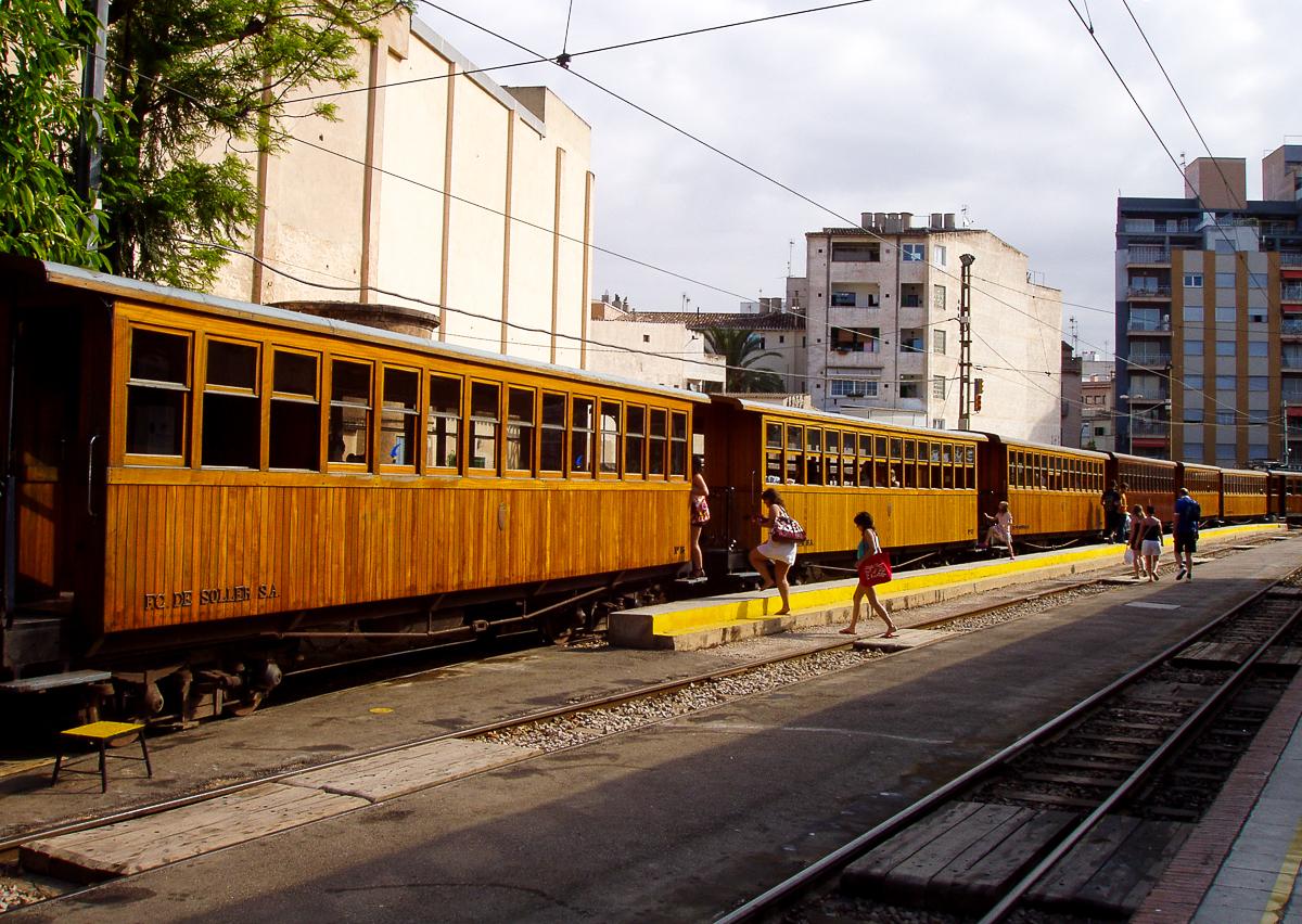 Tren de Sóller von Palma nach Sóller
