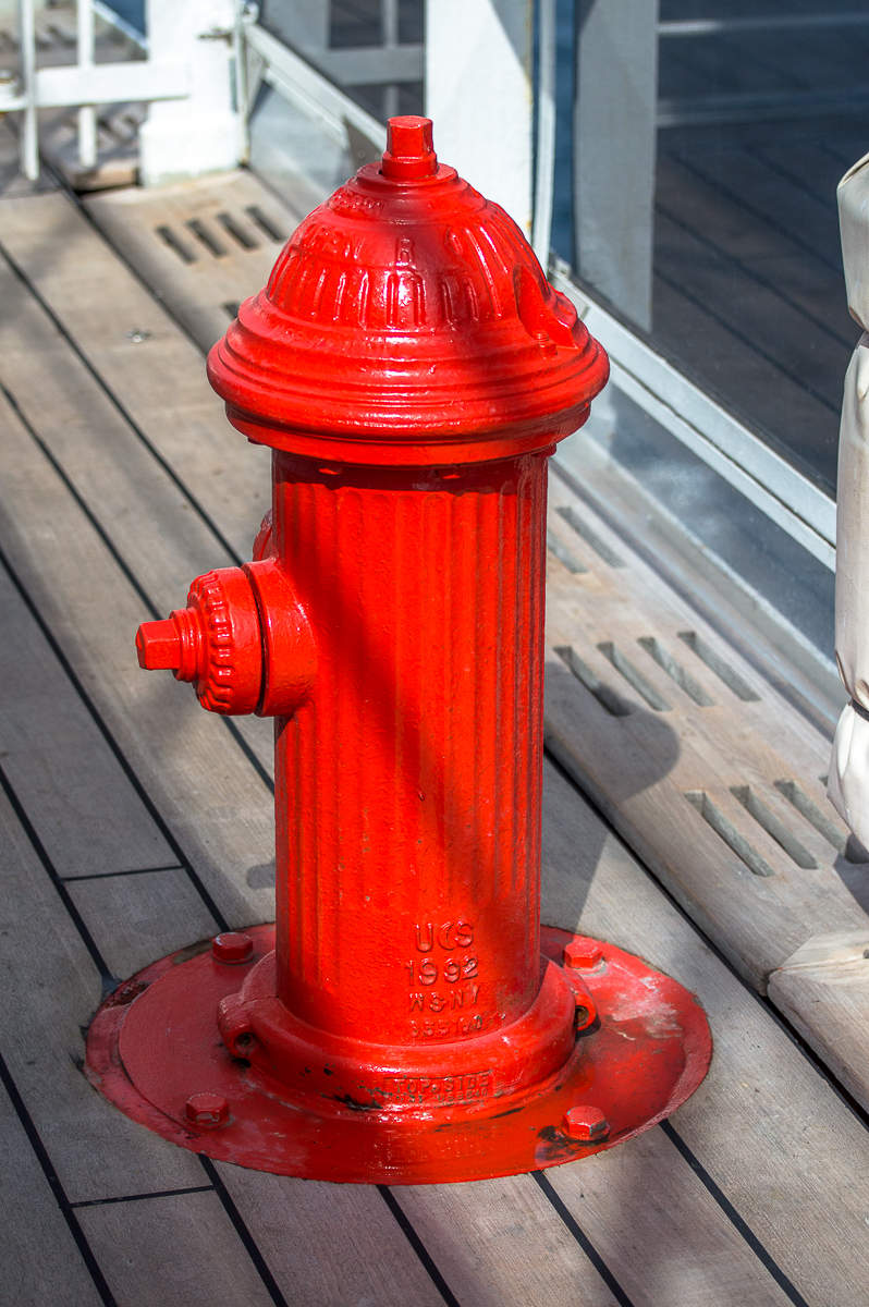 Hydrant Queen Mary 2