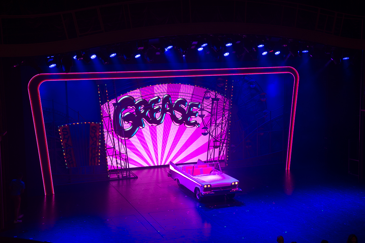 The Broadway Show Grease aboard the Harmony of the Seas