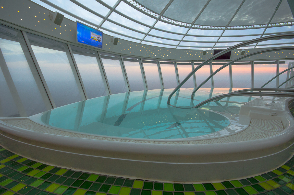 Whirlpool aboard the Harmony of the Seas