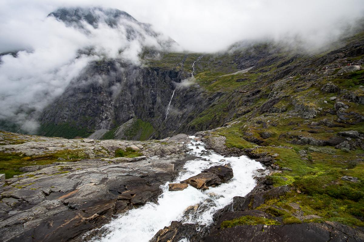 Waterfall Trollstigheimen