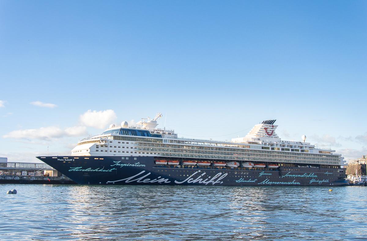 Mein Schiff 2 in Madeira