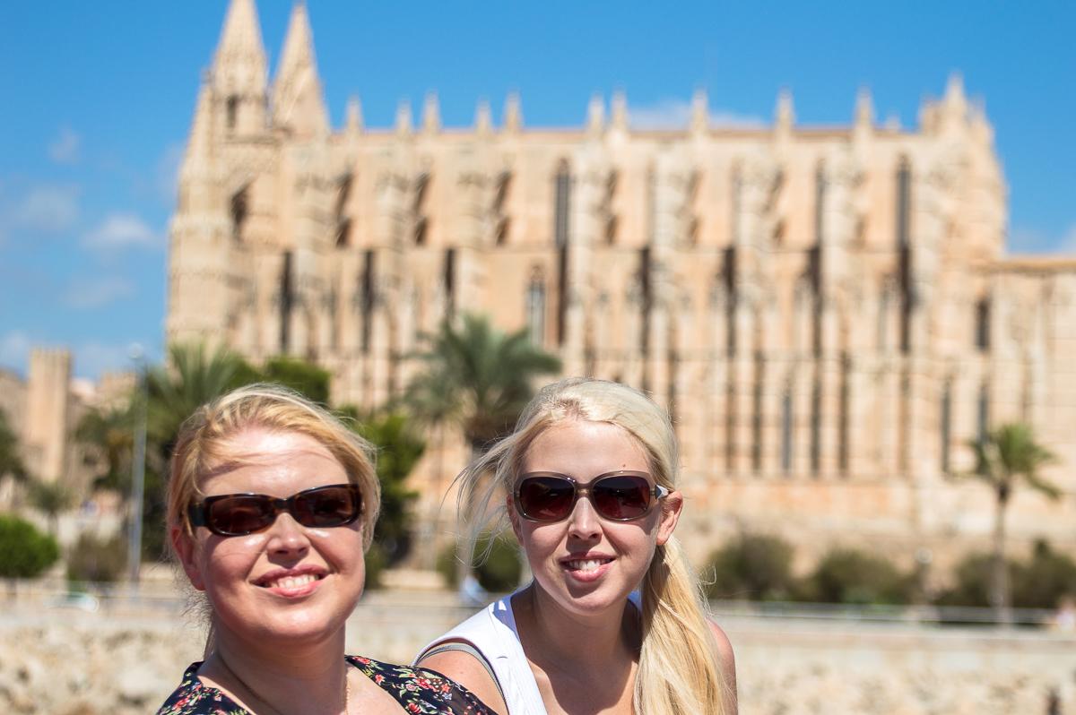 Palma La Seu Kathedrale Cruise Sisters